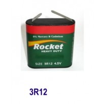 Mπαταρία Πλακέ 4,5 V 3R12 Zinc (Ψευδαργύρου)