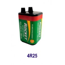 Mπαταρία 6V με Ελατήρια 4R25 Zinc (Ψευδαργύρου)