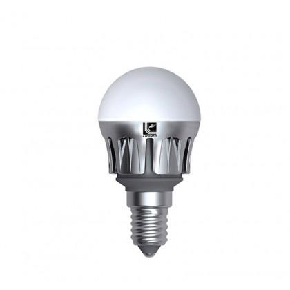 Λάμπα LED σφαιρική Ε14 6 Watt Ψυχρό ΜΑΤ