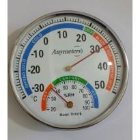 Θερμόμετρο- υγρασιόμετρο & ψυγείου