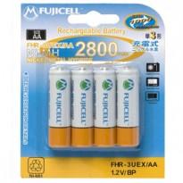 Επαναφορτιζόμενες Μπαταρίες Fujicell AA 2800 mAh ΝiMH