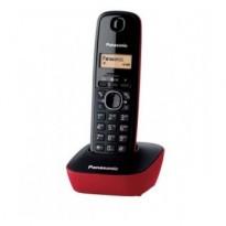Panasonic KX-TG1611 Ψηφιακό Ασύρματο Τηλέφωνο Μαύρο/Κόκκινο