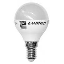 Λάμπα LED σφαιρική Ε14 7 Watt Ψυχρό ΜΑΤ