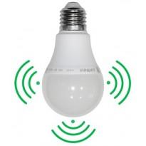 LED ΑΧΛΑΔΙ E27 10W 230V Με Ενσωματωμένο Ανιχνευτή Κίνησης Υψηλής Ευαισθησίας Τεχνολογίας Μικροκυμμάτων
