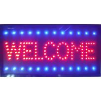 Πινακίδα LED WELCOME