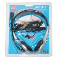 Ακουστικά κεφαλής και Μικρόφωνο WL-010MV