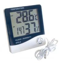 Θερμόμετρο Εσω./Έξω. και Υγρόμετρο