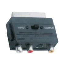 Αντάπτορας 3RCA και MINI 4 Pin σε SCART