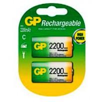 GP Πακέτο 2 μπαταριών C 2200 series NiMH