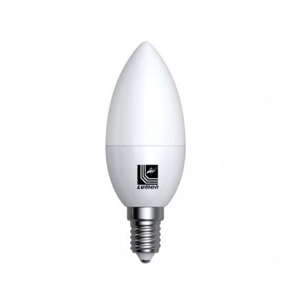 Λάμπα LED κεράκι Ε14 5 Watt Θερμό ECOLED