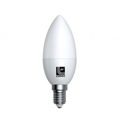 Λάμπα LED κεράκι Ε14 5 Watt Ψυχρό ECOLED