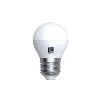 Λάμπα LED σφαιρική Ε27 5 Watt Θερμό ΜΑΤ