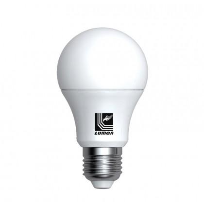 Λάμπα LED Aχλάδι  Ε27 6 Watt Θερμό ΜΑΤ ECOLED