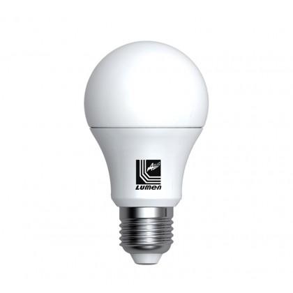 Λάμπα LED Aχλάδι  Ε27 6 Watt Ψυχρό ΜΑΤ  ECOLED
