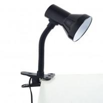 Μεταλλικό φωτιστικό με πλαστικό clip και διακόπτη στο καλώδιο