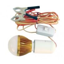 Λάμπα με LED 5W 12V