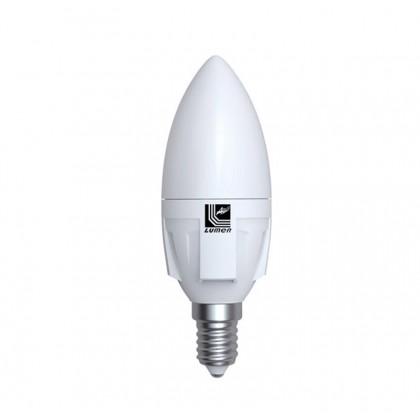 Λάμπα LED κεράκι ΜΑΤ Ε14 6 Watt Θερμό