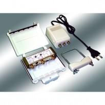 Θωρακισμένος ενισχυτής VHF-UHF για 22dB/μV και άνω